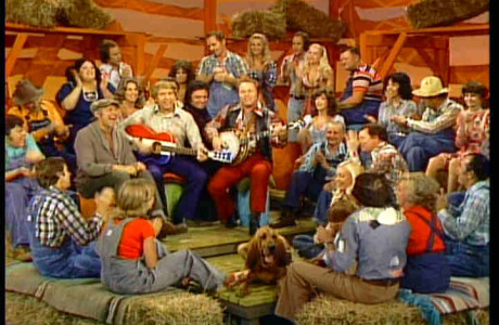 Buck Owens, Roy Clark, and the Hee Haw gang along with special guest Johnny Cash