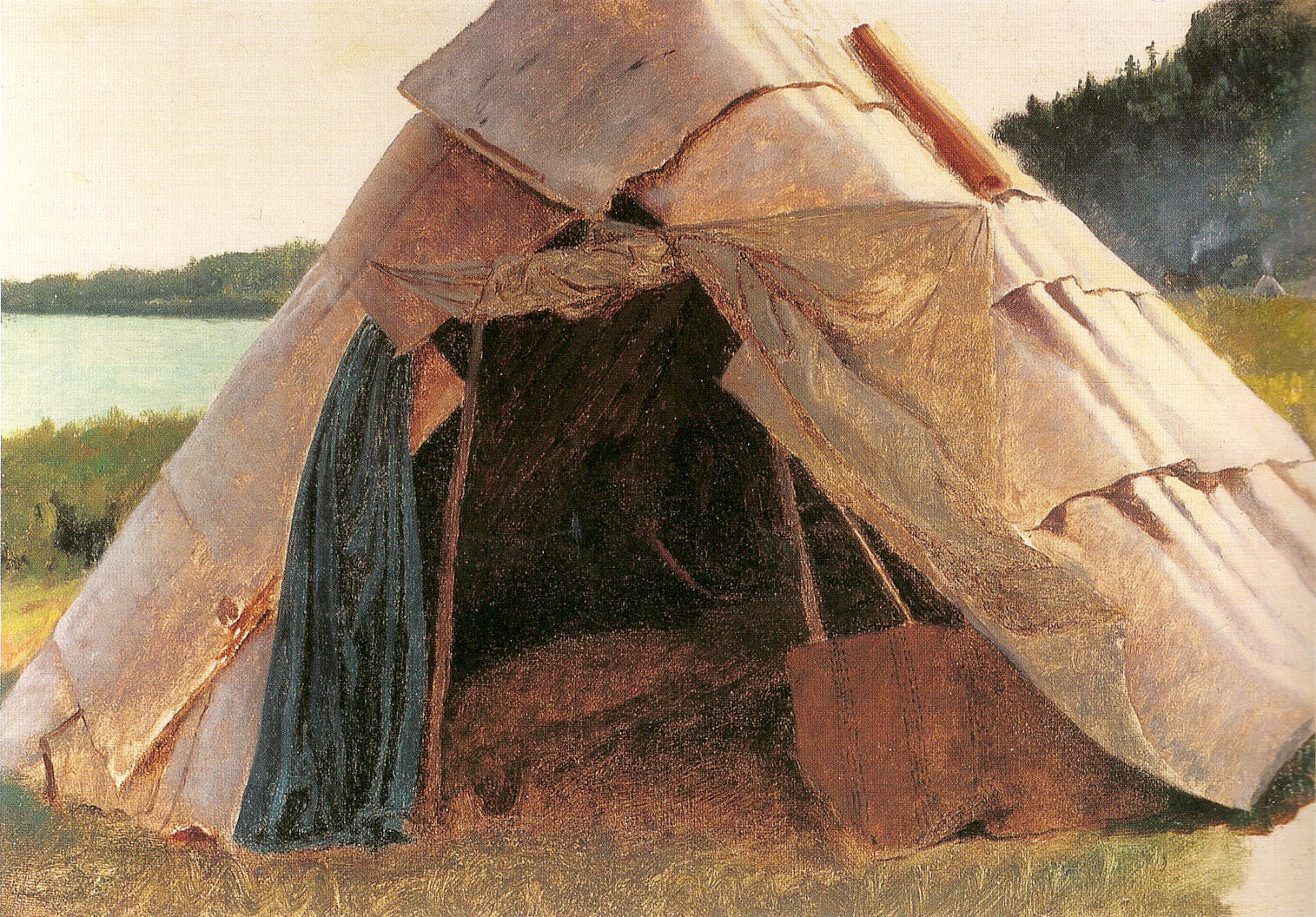 photo of some people in a survival tent